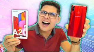 GALAXY A20s - MELHOROU ou PIOROU? Eita Samsung! Unboxing e Impressões