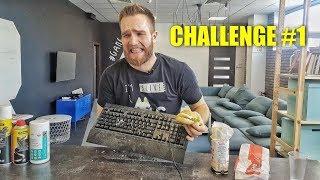 JAK WYCZYŚCIĆ KLAWIATURĘ? CHALLENGE #1