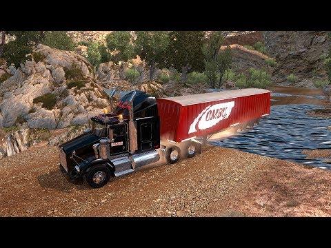 De Durango a Sinaloa por la Sierra   Kenworth T800 Kenmex
