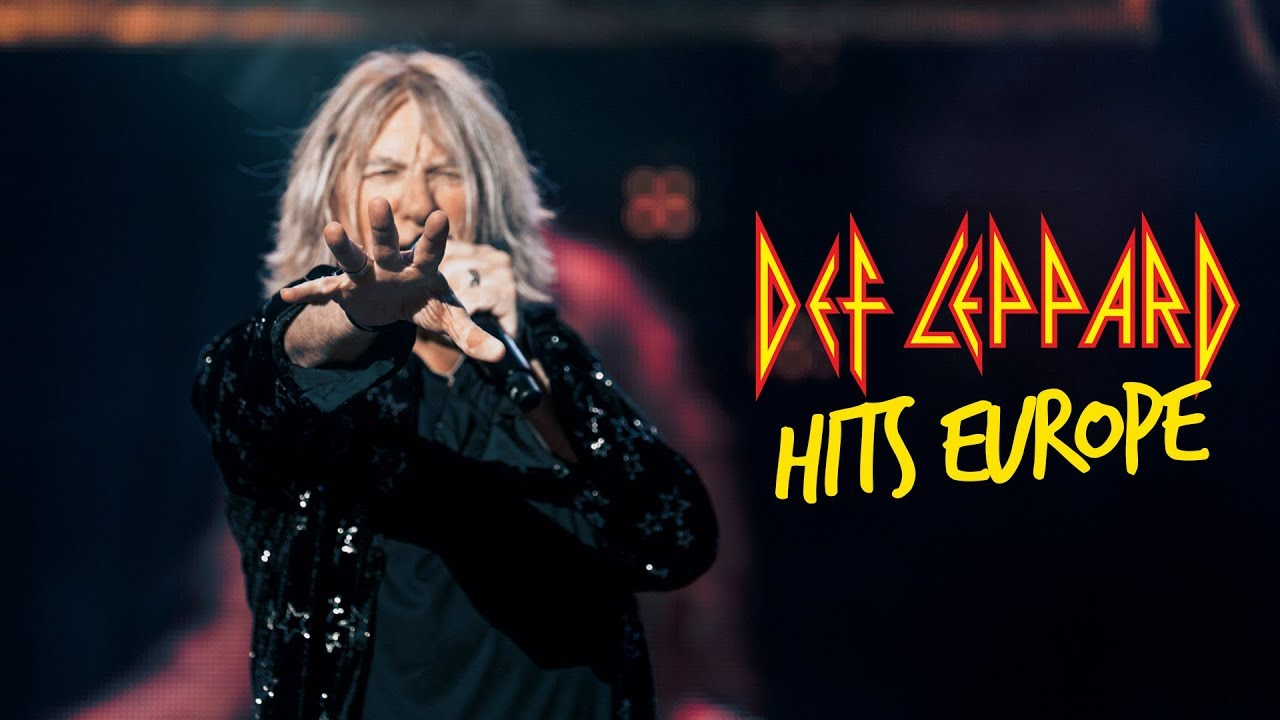 Def Leppard Hits Europe — Sweden Rock Festival