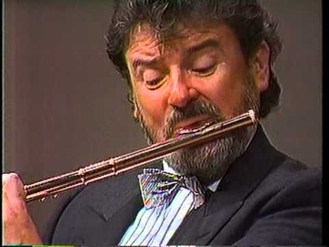 James Galway/Schubert Arpeggione Sonata 1st mov