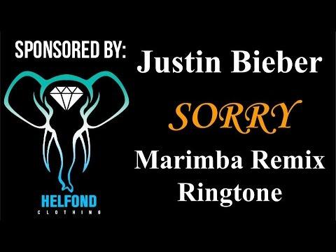 Justin Bieber - Sorry Marimba Ringtone and Alert