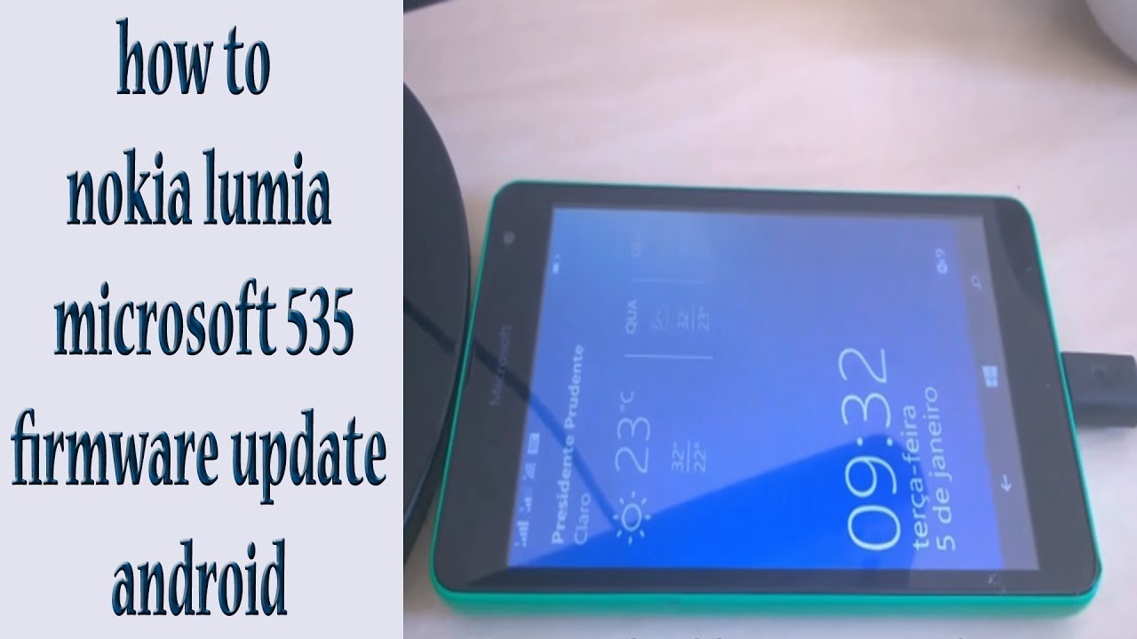 Lumia 521 software update - How To Nokia Lumia Microsoft 535 Firmware Update Android