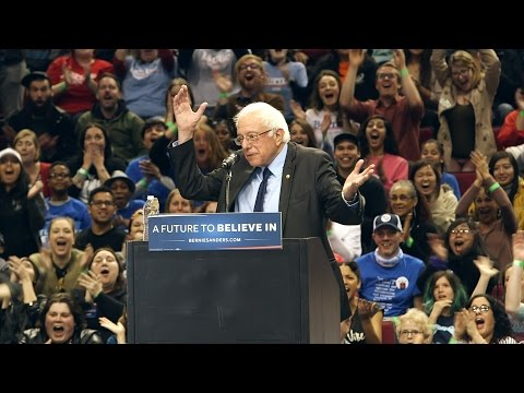 Bernie Sanders 'put a bird on it' at Portland rally