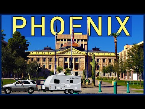 Phoenix, Arizona. First Fridays, Downtown, the Capitol, Scottsdale - Traveling Robert