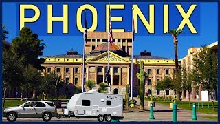 Phoenix, Arizona. First Fridays, Downtown, the Capitol, Scottsdale - Traveling Robert