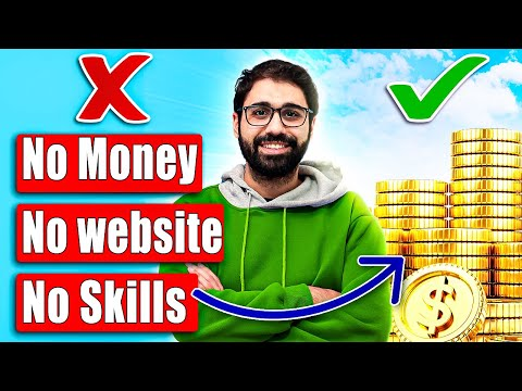 Make Money Online with No Money, No Skills, No Website  ( 1 Week Challenge! )
