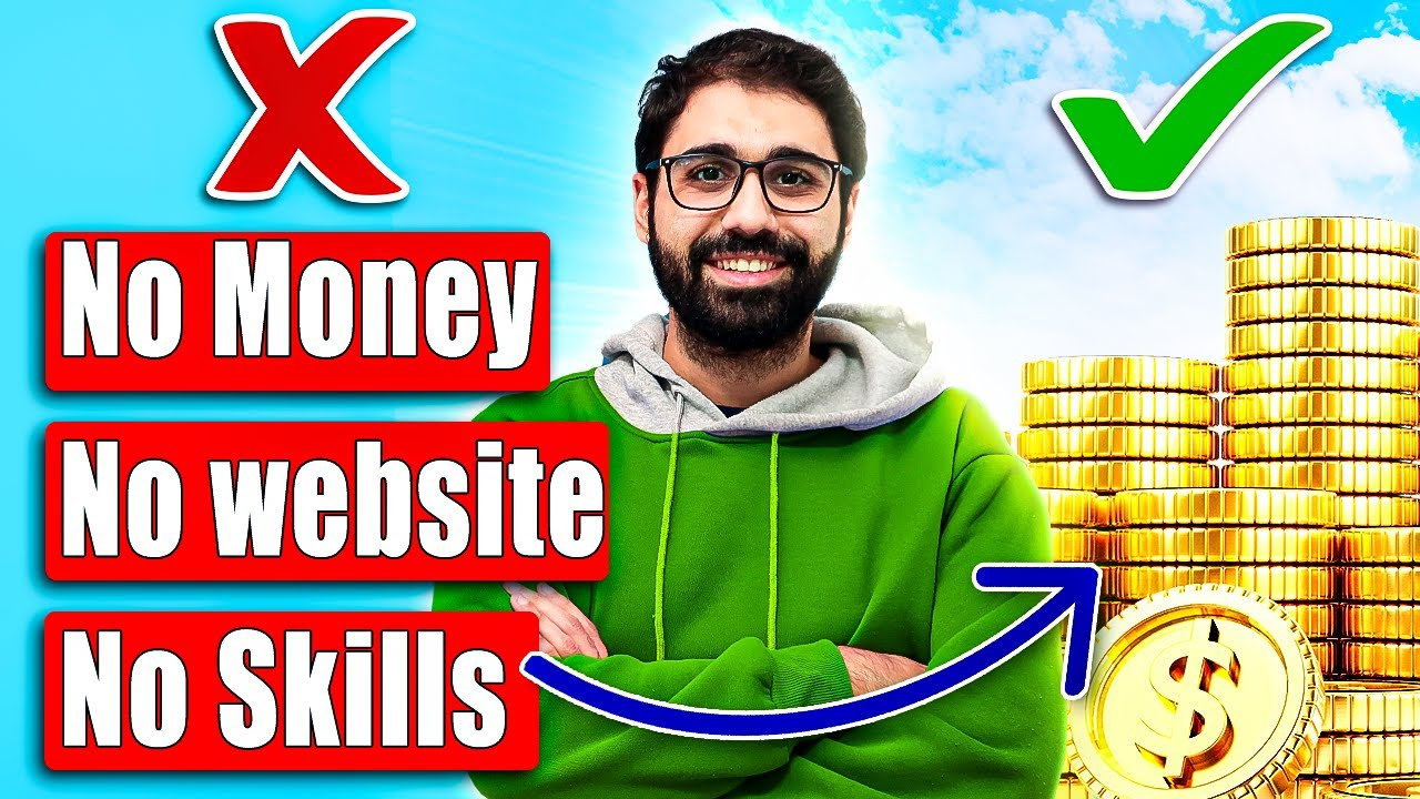 Make Money Online with No Money, No Skills, No Website  ( 1 Week Challenge! )