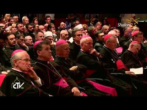 Apostolic Journey to Sarajevo-Inter-religious meeting at the Franciscan International Study Center
