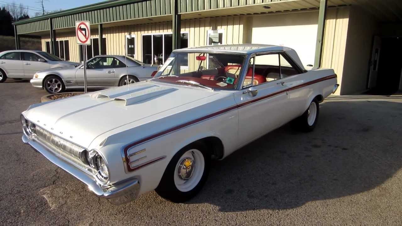 Sold 1964 Dodge Polara 500 426 Max Wedge Stage Three Passing 330 Lane Motors Classic Cars Youtube