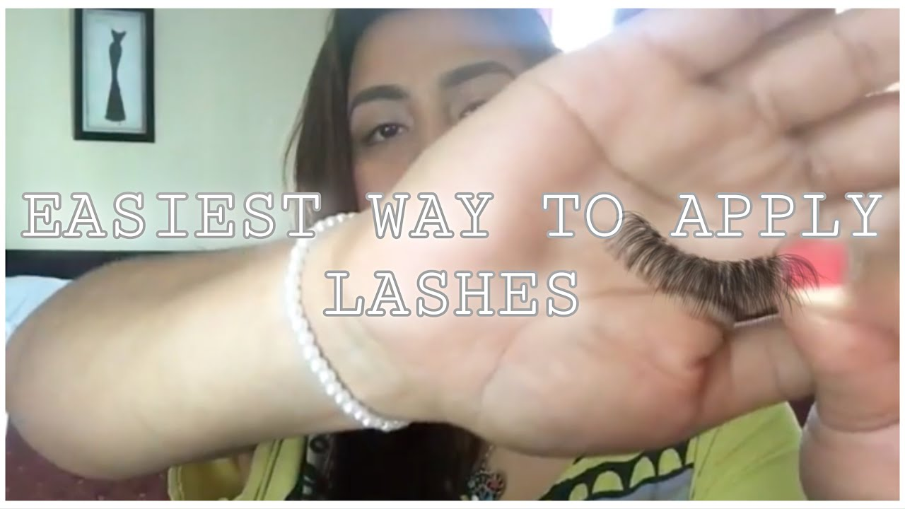 53b87502960 How To Apply False Lashes-Ardell Demi Wispies - YouTube