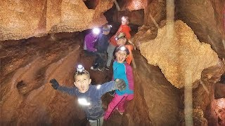 Surprise Found While Spelunking in Providence Cave Logan Utah | Caving With Kids | Nature For Kids