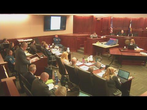 Defense cross examines APD Sgt. Matthew Fyles about contents of gunman's notebook