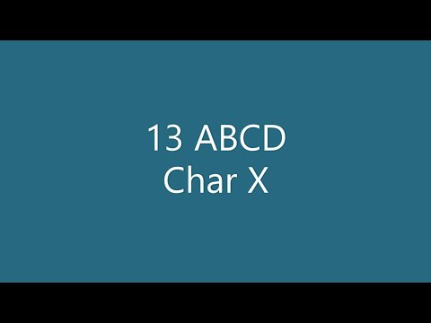 13 ABCD