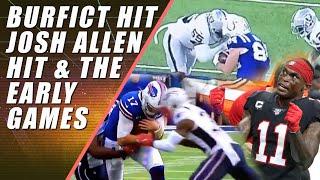 Vontaze Burfict Ejected, Josh Allen Hit & NFL Early Games