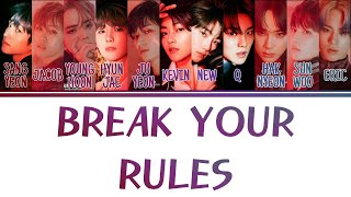 [Color Coded Lyrics] THE BOYZ 더보이즈 - 환상고백 (Break Your Rules) [Han/Rom/Eng]