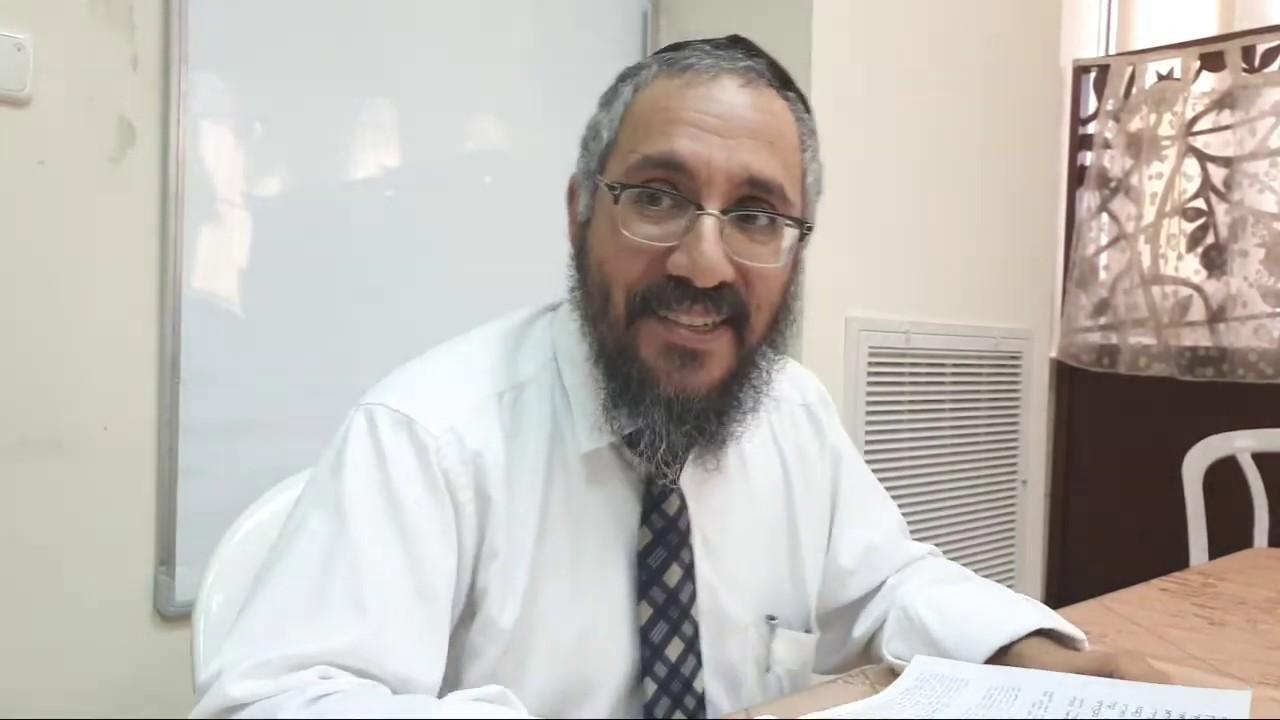 הרב צפניה ערוסי יהושוע פרק ג' פס' יד' 6