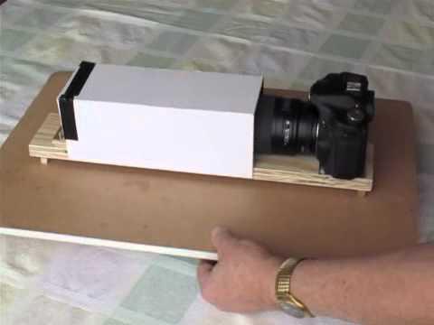 Diy Slide Scanner Scanning Via Dslr Youtube