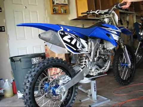 2008 Yz250f Exhaust Stock Vs Fmf Factory 4 1 Youtube