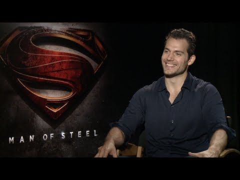 MAN OF STEEL Interviews: Henry Cavill, Amy Adams, Michael Shannon, Kevin Costner, Zack Snyder