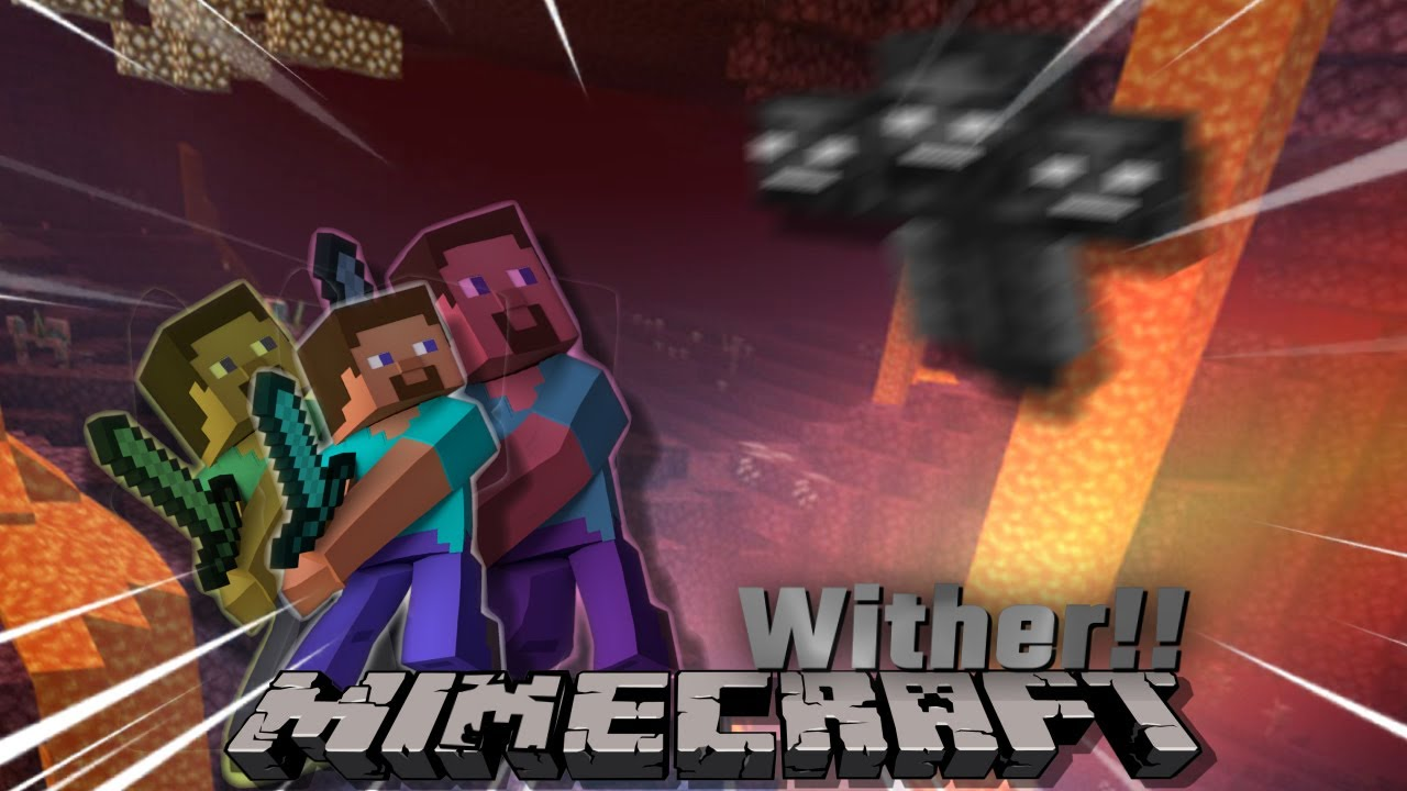 MINECRAFT AWKWARD MOMMENT 😳😳// DEFEAT WITHER BOSS!!