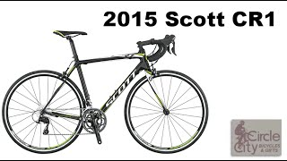 2015 Scott CR1 Road Bike Review and Specs
