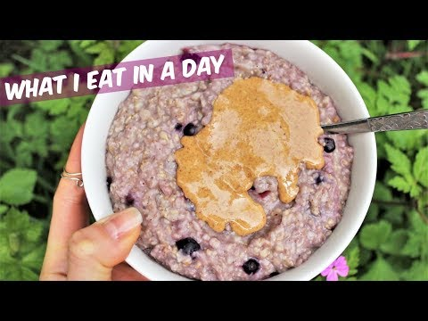 WHAT I EAT IN A DAY | WFPB Unlimited Calories