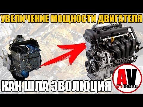 Как увеличивалась мощность - эволюция двигателя? ПРОСТО О СЛОЖНОМ
