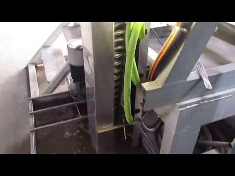 MHD Lead shot production machine