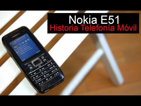 Nokia E51, anunciado en 2007 | Historia Telefonía Móvil