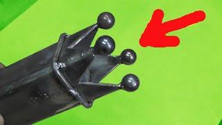 ОТКРЫВАЮ СЕКРЕТ изготовления КОРОЛЕВСКОЙ заглушки на профильную трубу СВОИМИ РУКАМИ!!!