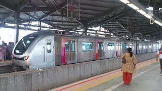 Mumbai Metro Train Ride -  Versova to Ghatkopar Metro Journey Video(DID YOU RIDE ? Express BELOW Your feelings & Experience of this Train Ride. Surely not everyone will be lucky enough like we few to get the first day ride ..., 2014-06-09T06:55:51.000Z)