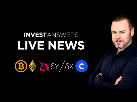 LIve Market Update: Bitcoin, Ethereum, Coinbase, Uni dYdX and more