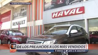 Autos chinos cumplen 10 años en Chile