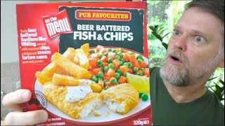 On The Menu Microwavable Fish and Chips Review