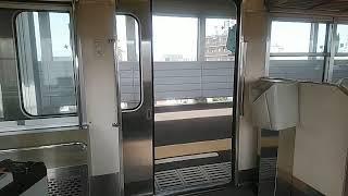 富山地方鉄道14760系 ドア開閉