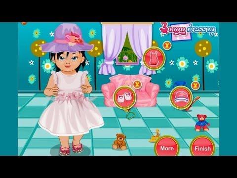 Игра Уход за волосами малышки Хэйзел онлайн Baby Hazel