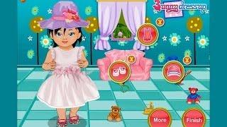 Уход за малышкой, обзор видео игры