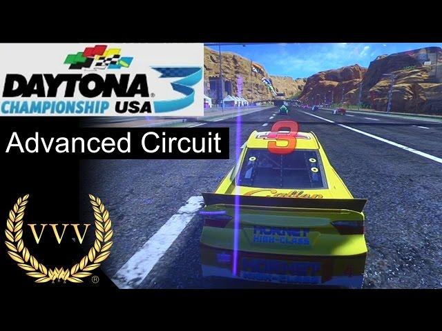 Daytona USA 3 - Advanced Circuit Gameplay