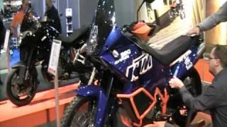 Mp messut helsinki VIDEOSSA NÄKYYLOPPUPUOLELLA UUSI KTM 990S ADVENTURE  JA KTM 690 ENDURO 4 2 2011 15