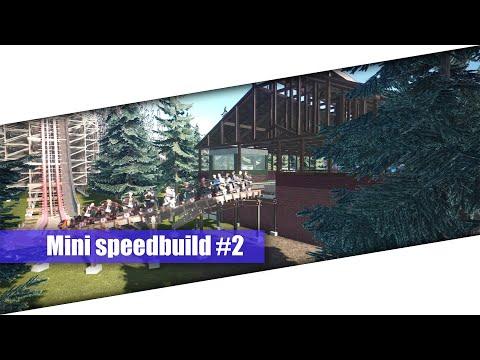 "Mini speedbuild ""Bavarian rush"" #2 Building the roof | Coaster Planet |"