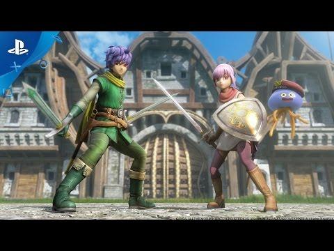 Dragon Quest Heroes II - Meet the Heroes, Part I: Lazarel, Teresa & Healix   PS4