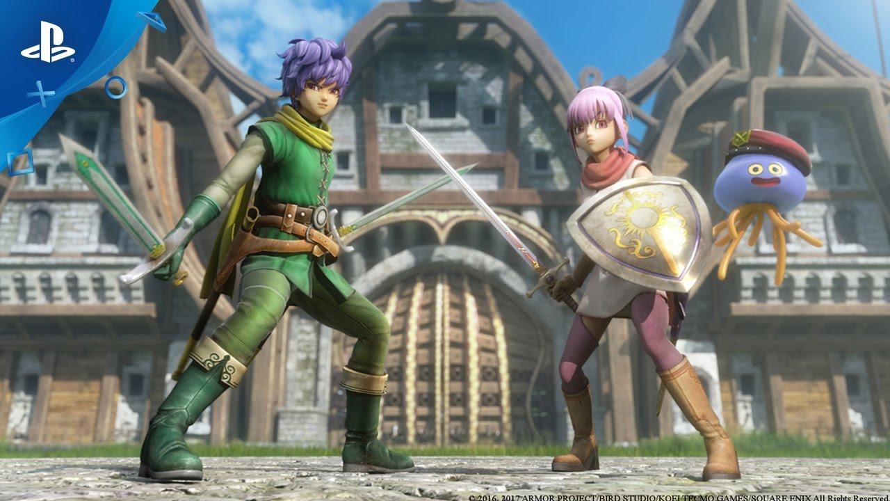 Dragon Quest Heroes Ii Meet The Heroes Part I Lazarel Teresa Healix Ps4 Youtube