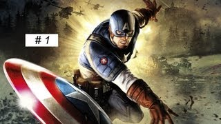 Captain America: Super Soldier gameplay Full Game walkthrough part 1 XBOX 360 PS 3