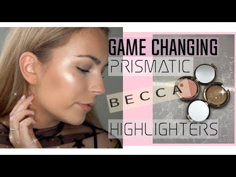 NEW Becca Light Chaser Highlighters! | Review, Swatches & Application