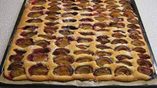 Pflaumenkuchenrezept super lecker - Kuchenrezepte - Blechkuchenrezept/DIY