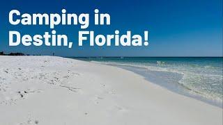 HENDERSON BEACH STATE PĄRK | Camping in Destin Florida | Florida Beaches | Emerald Coast | RV Travel