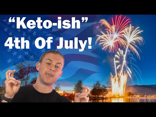 How To Stay Keto On The 4th Of July! #Shorts