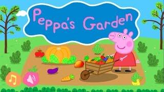 Peppa Pig Jardín App Gameplay