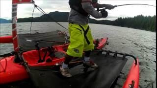 Westcoast Salmon Trolling Hobie Island Style